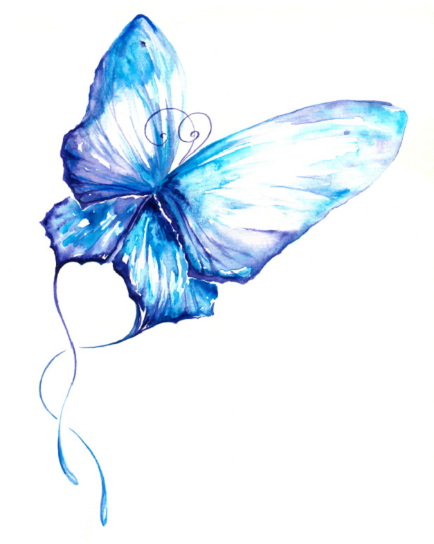 Suicide Loss butterfly