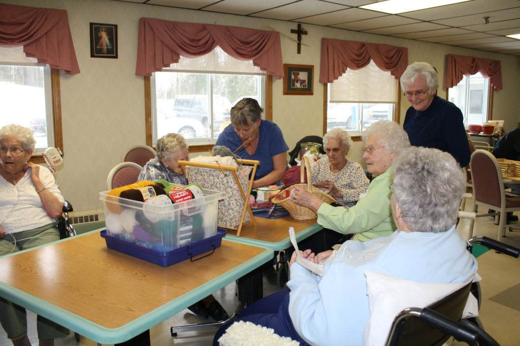 FH Residents preparing for Nursing Home Week Fundraiser 04 22 15