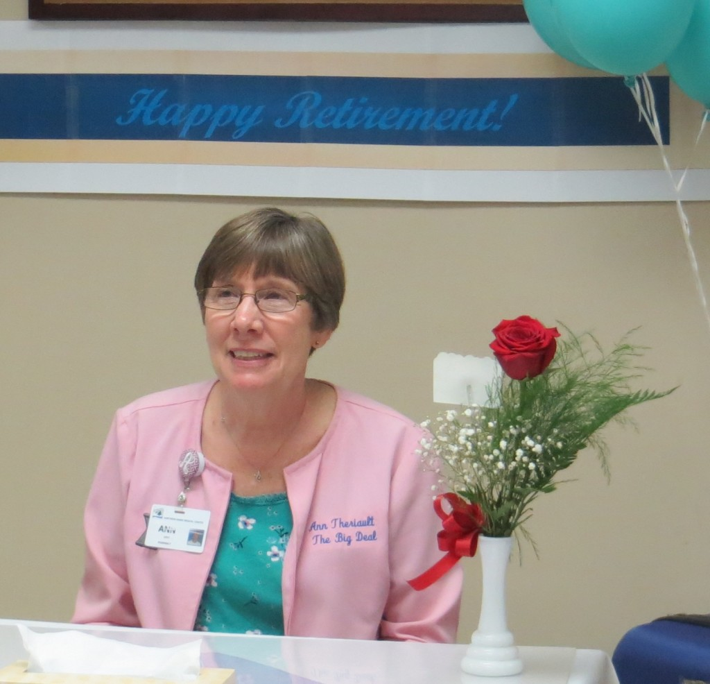 Theriault Ann Retirement 04 24 15